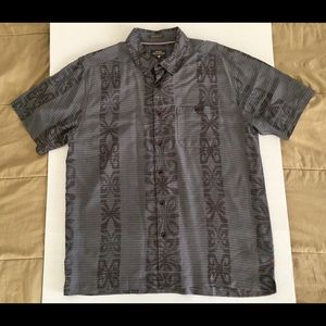 Quiksilver Waterman Comfort Hawaiian Aloha Shirt